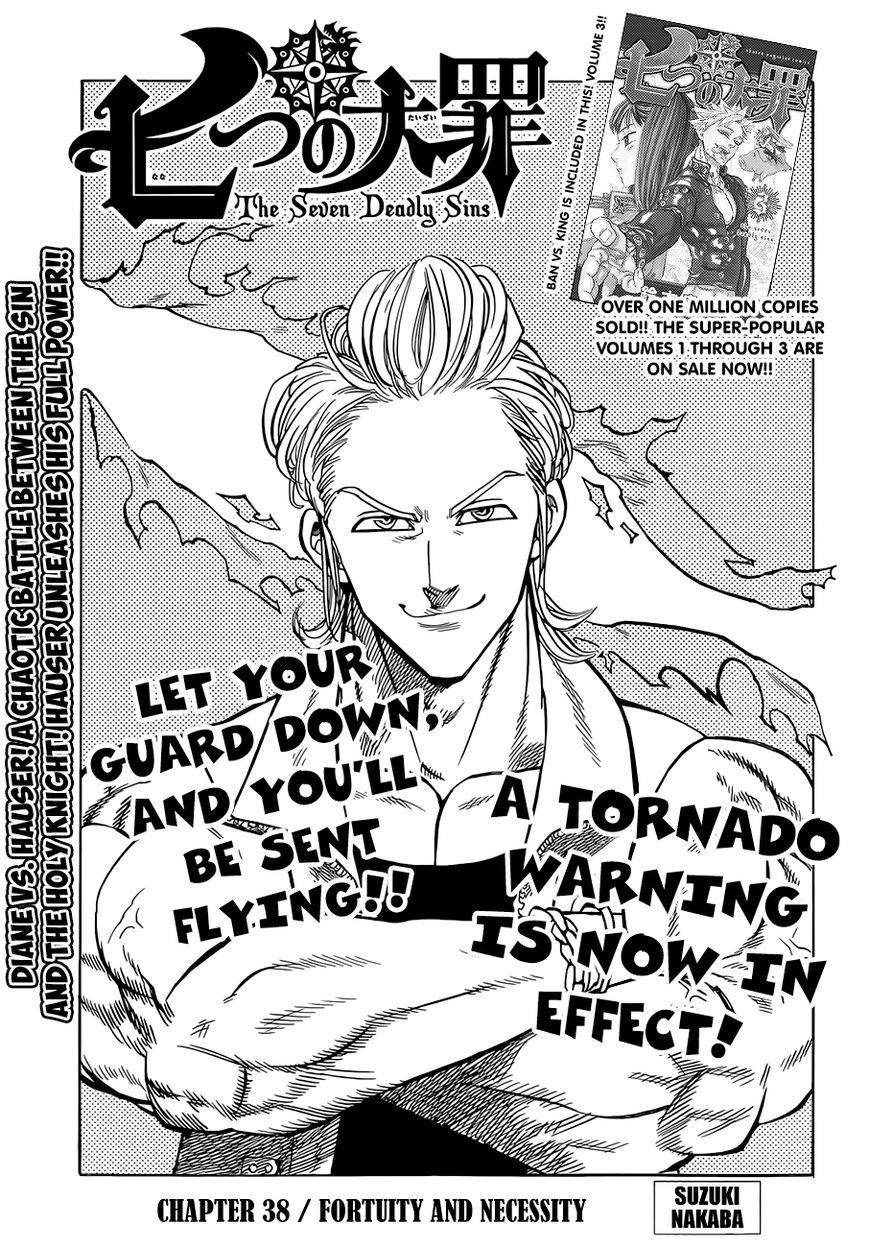 Nanatsu no Taizai 38 Page 2 Reading, Memes, Manga