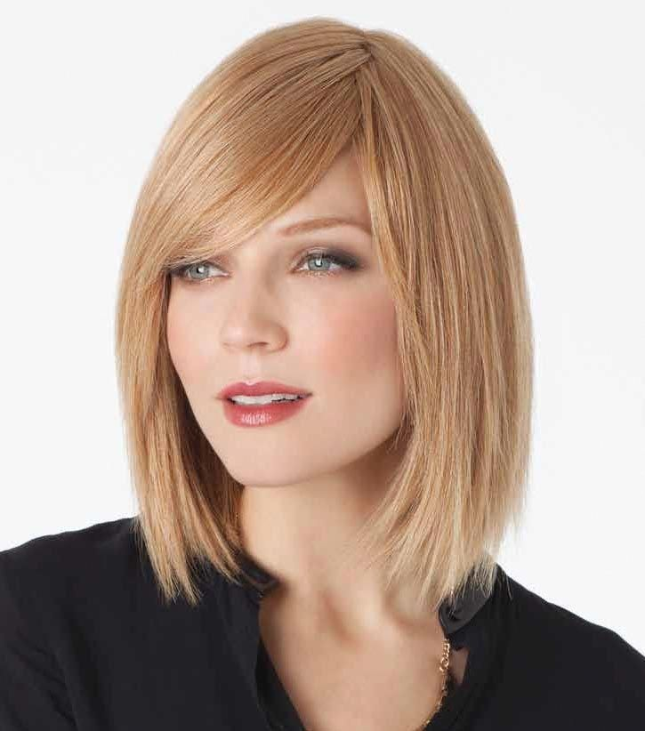 Blonde Bob Wig With Dark Roots Human Hair