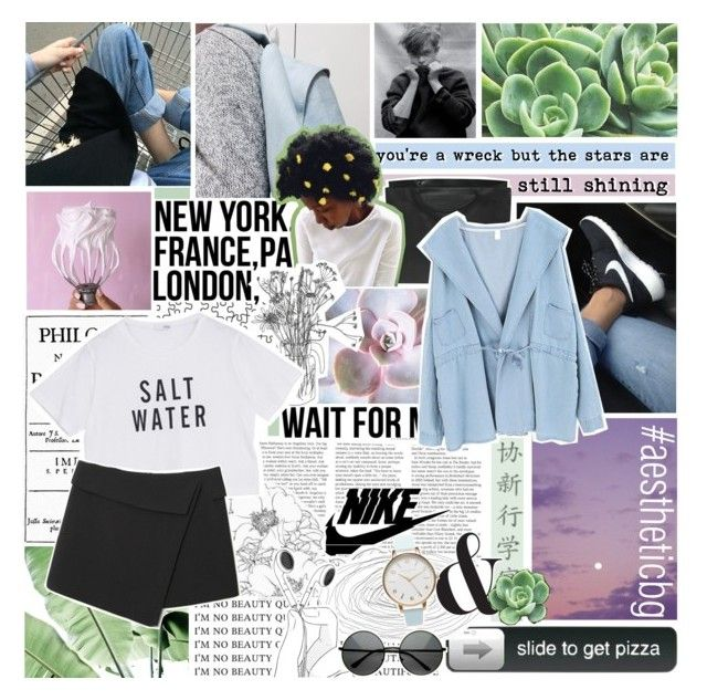 """""""salt water // battle of the aesthetic round 1"""" by fashionisall12 ❤ liked on Polyvore featuring Chanel, Chicnova Fashion, Olivia Burton, ZeroUV and aestheticbg"""