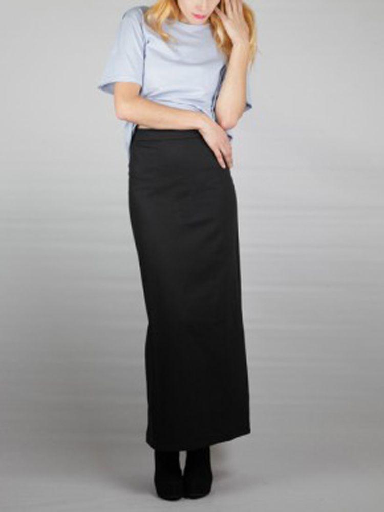 Long Pencil Skirt. #FashioningChange