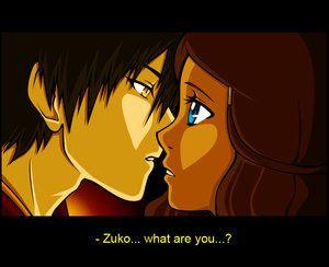 Eeek Zutara Kiss 3 Zutara The Last Airbender Avatar The