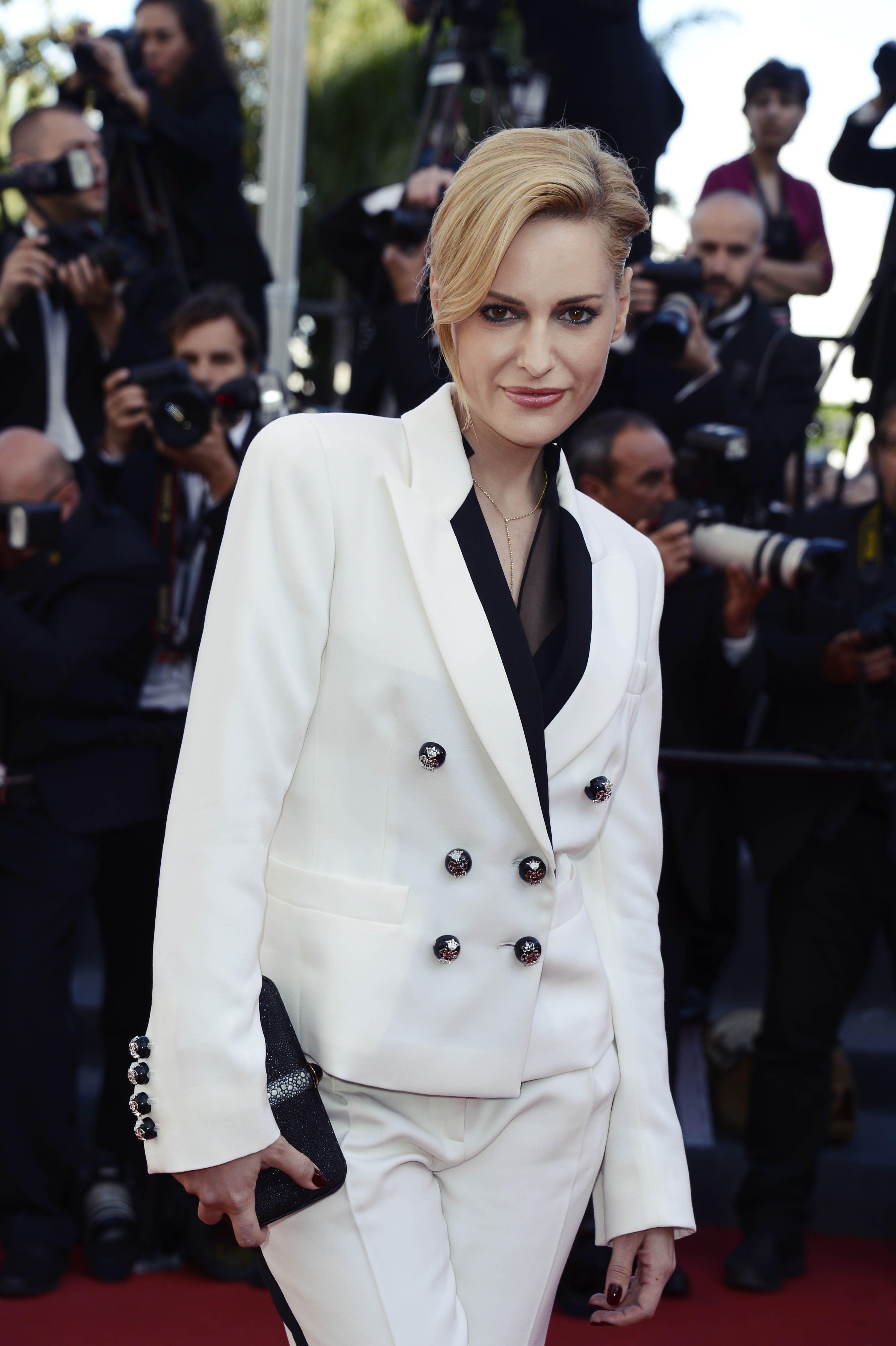 Aimee Mullins' - Cannes 2013 met een stoere look, verfrissend anders