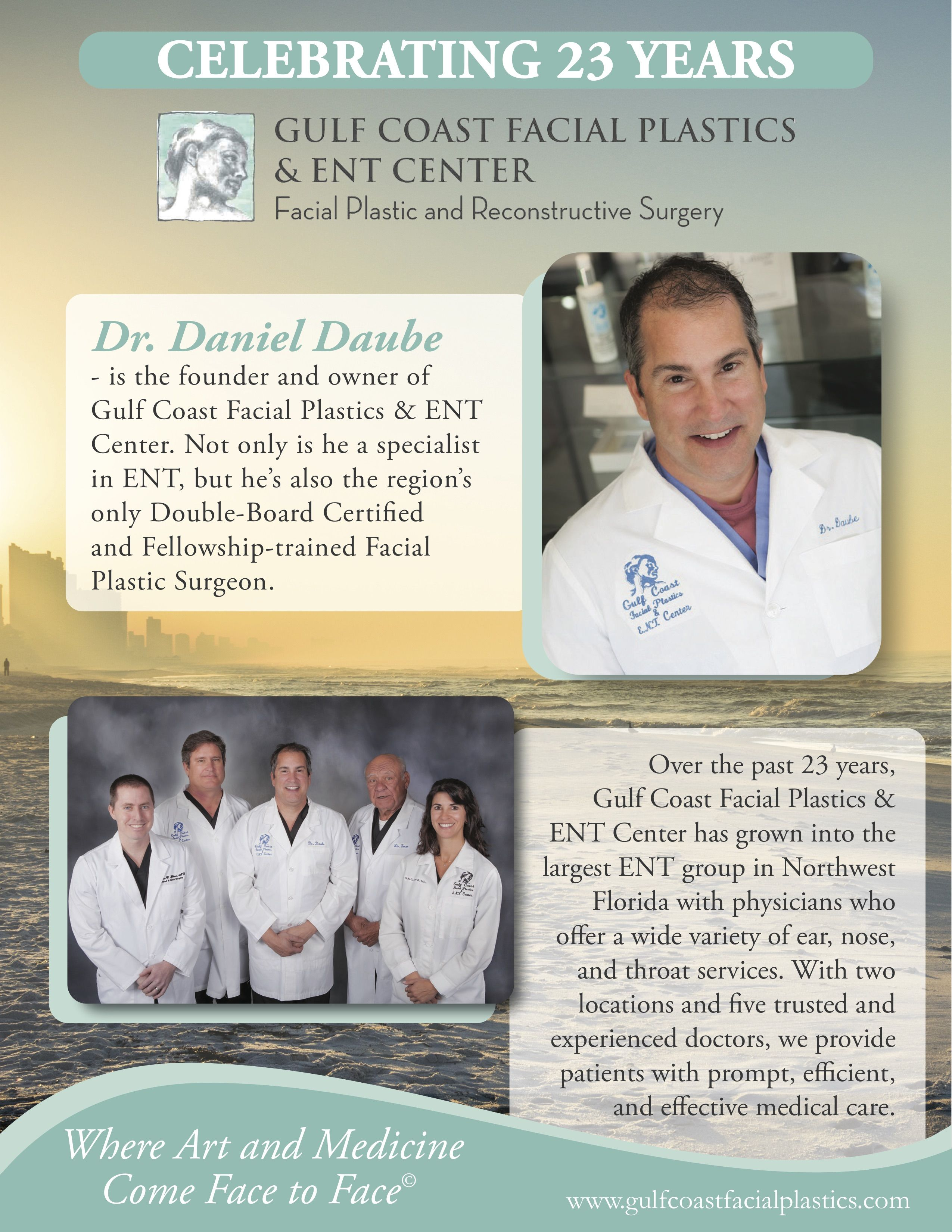 Celebrating 23 Years Of Dedicated Service To Bay County And Surrounding Areas Dr Facial Plastic Plastic And Reconstructive Surgery Laser Skin Resurfacing