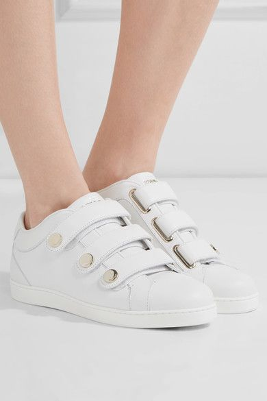 394d0069fd08 JIMMY CHOO NY studded White leather sneakers in 2019