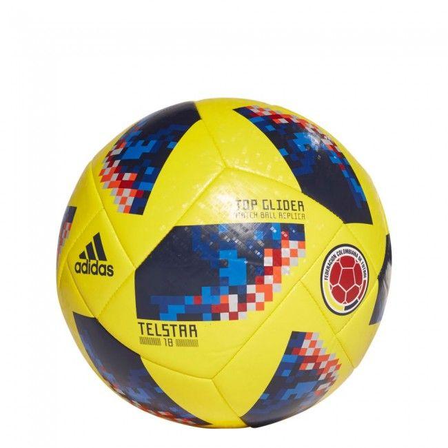 eeff01eeaef Balón Réplica Mundial 2018 Colombia - Top Glieder football - Amarillo Azul   football  balon  pelota  futbol