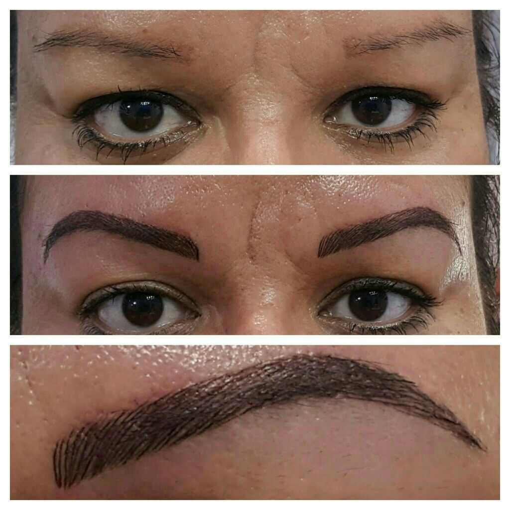 microblading over an old tattoo microblading 3d eyebrows