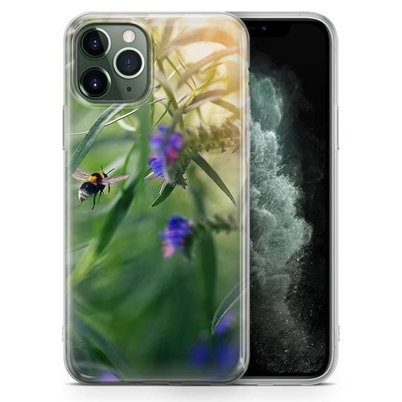 Bee phone case Bumblebee Help bee Cover Samsung A20/A30 S8 S8+ S9, S9+