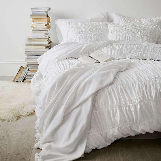 Ruched Duvet Cover Sham White Duvet Covers Bedroom Layouts