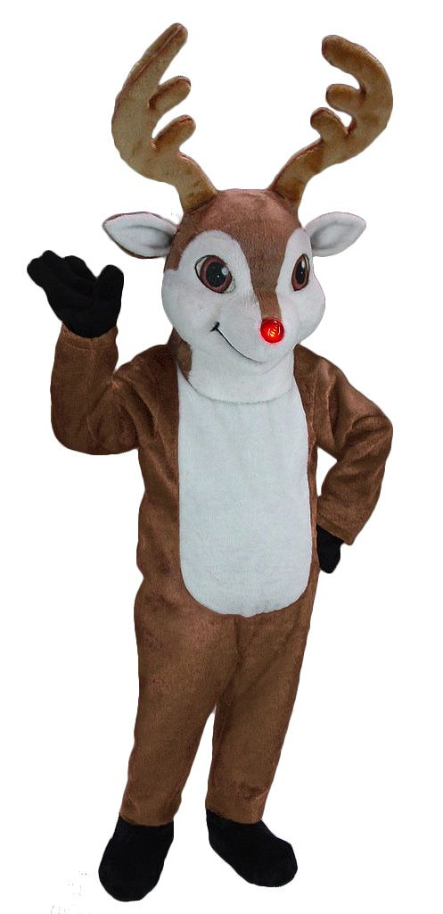7aa491e1369d4 Rudolph the Red Nosed Reindeer Costume 44340