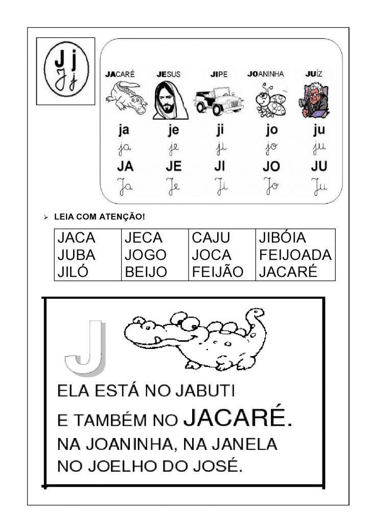 Livro Alfabetico Com Silabas Simples Fichas De Leitura