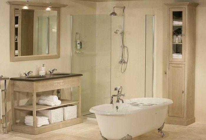 landelijke badkamers met inloopdouche - Google zoeken | badkamer ...