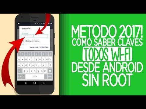 Como Ver Las Contraseñas De Wifi Guardadas En Tu Celular Android 2017 No Root Link Descrip Youtube Wifi Phone Electronic Products