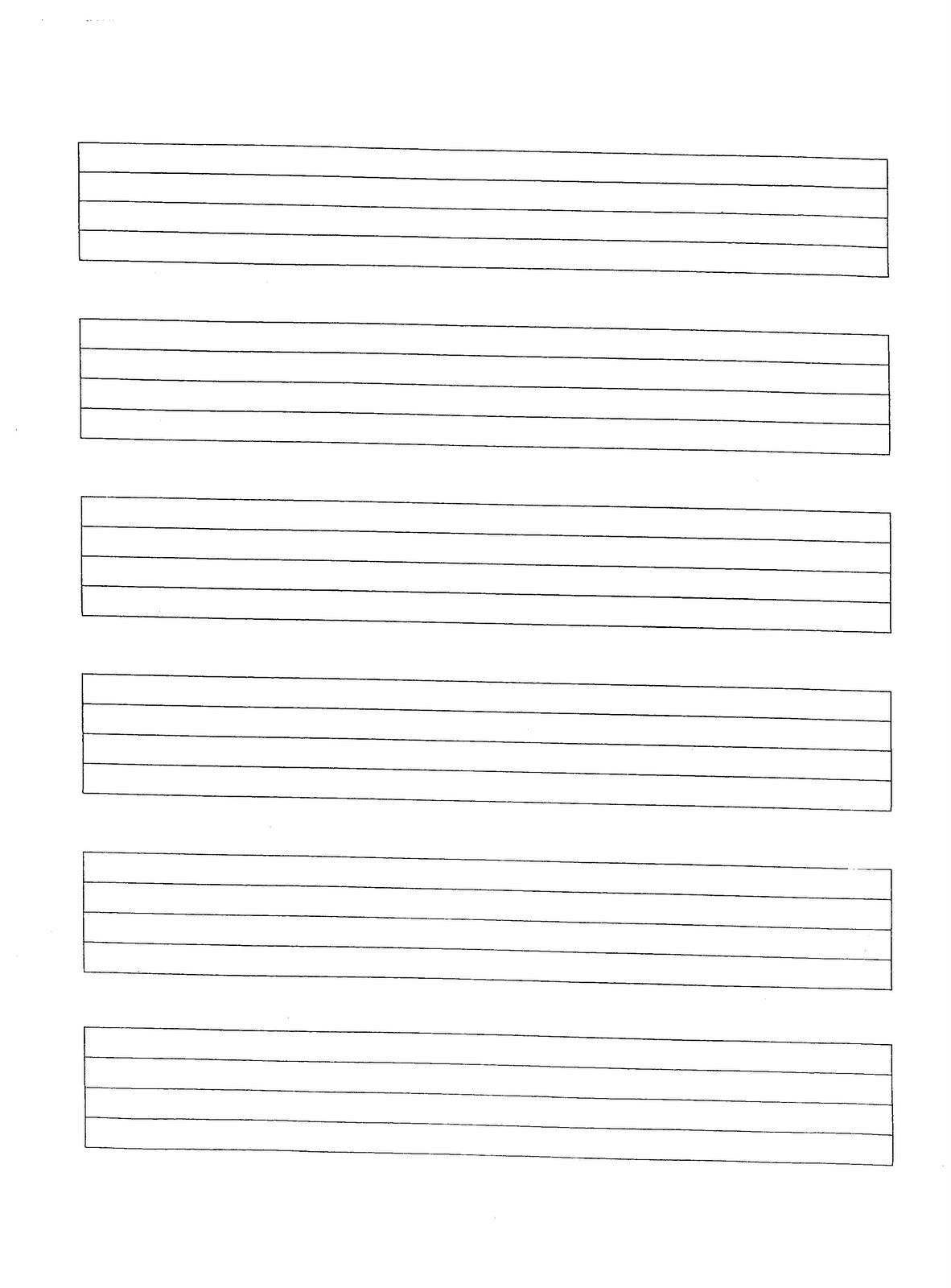 music manuscript paper free printable | SITES WHERE YOU CAN FIND ...