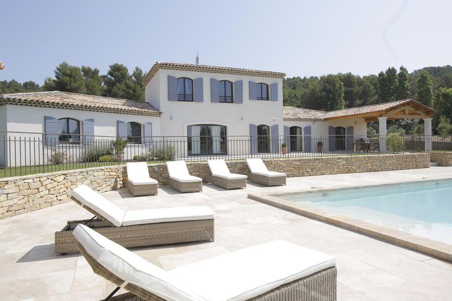 Villa traditionnelle provençale265-suite | Constructeur maison, Maison contemporaine, Maison ...