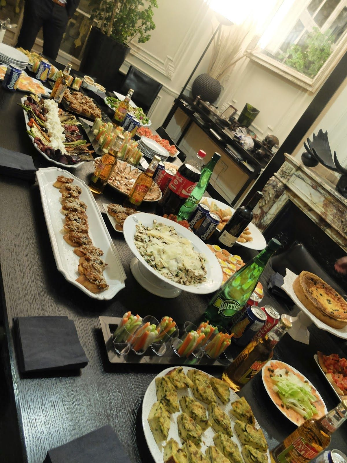 Repas Entre Amis Idee My Home-made : Petit ApÉro Entre Amis……. | Buffet Froid
