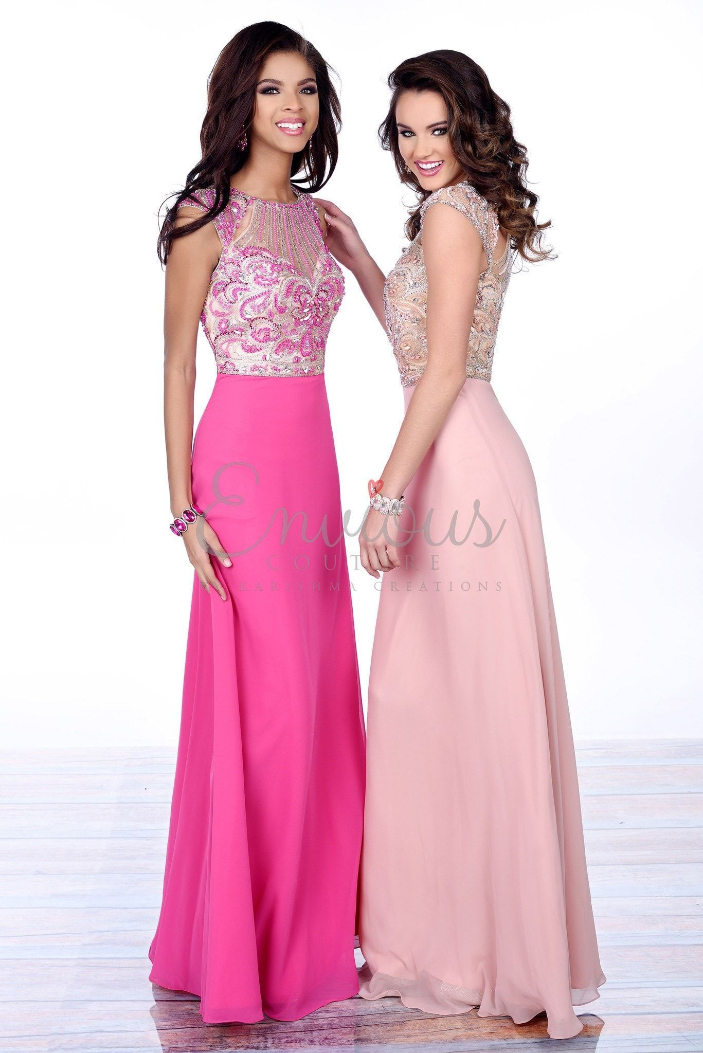 Envious Couture 16358 Blush Prom Dress | Products | Pinterest