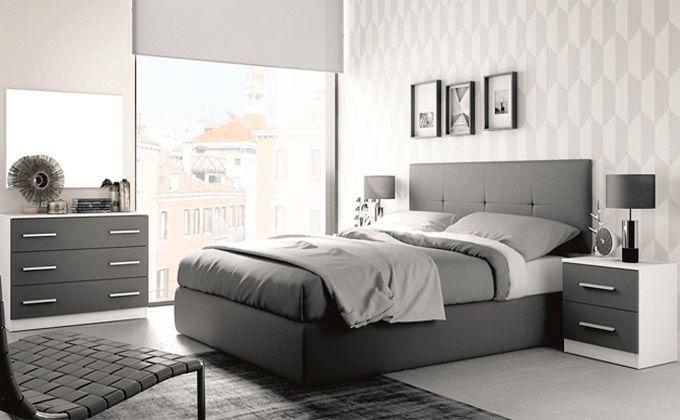 Matrimonio Bed Info : Dormitorio de matrimonio con cabecero mesitas y cómoda en
