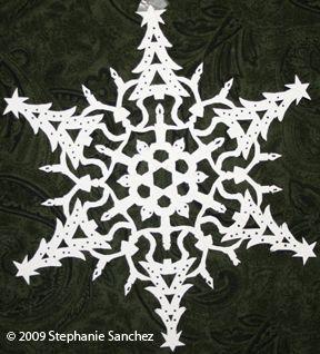 Http Butterflies Heuristron Net Pictures Snowflakes 20090405 285 Jpg Paper Snowflake Patterns Paper Snowflake Designs Paper Snowflakes