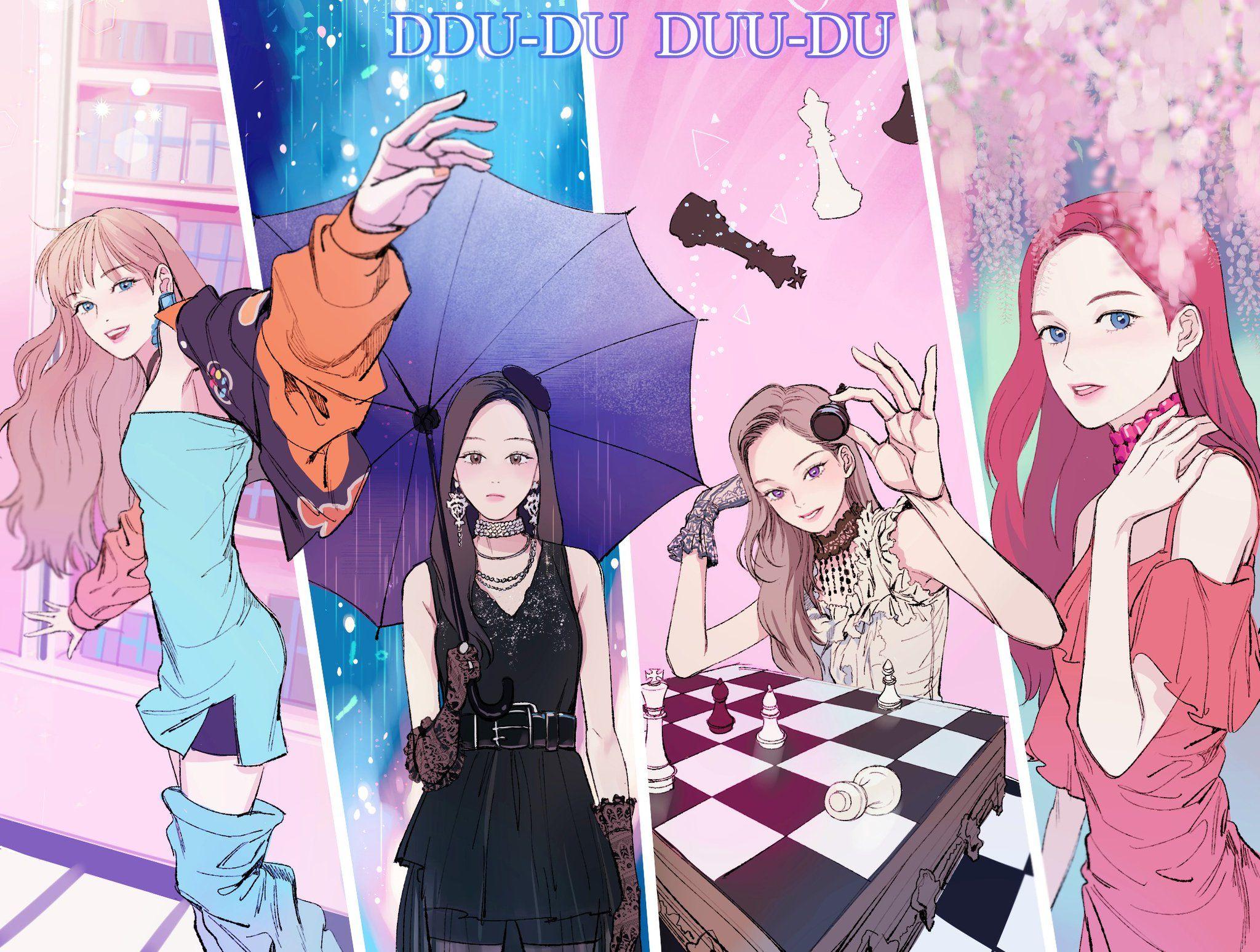 마누비 on Blackpink, Cute dessin et Jolie fille anime