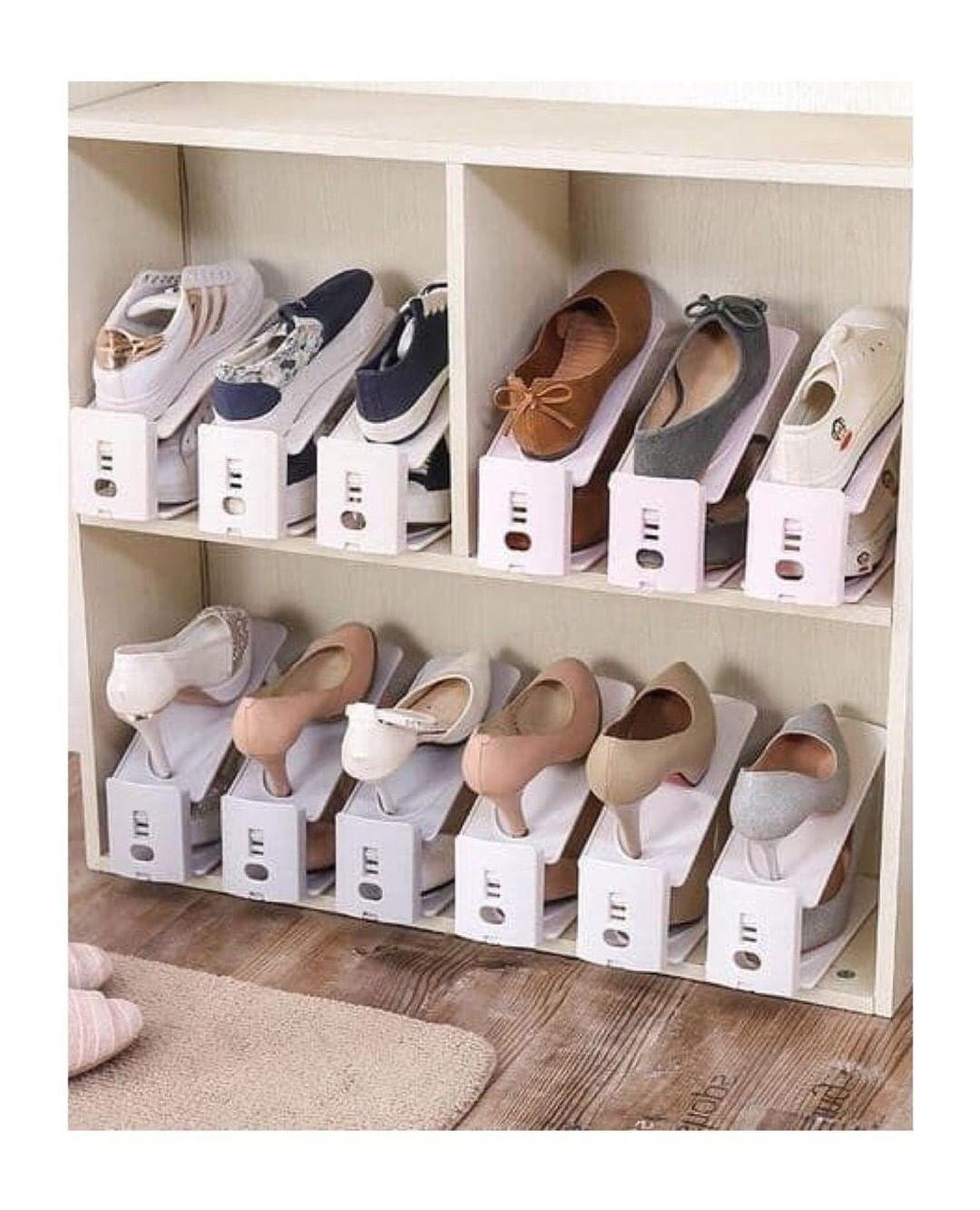 Ordena Tus Zapatos Organizador De Zapatos Como Organizar Zapatos Organizacion Zapatos