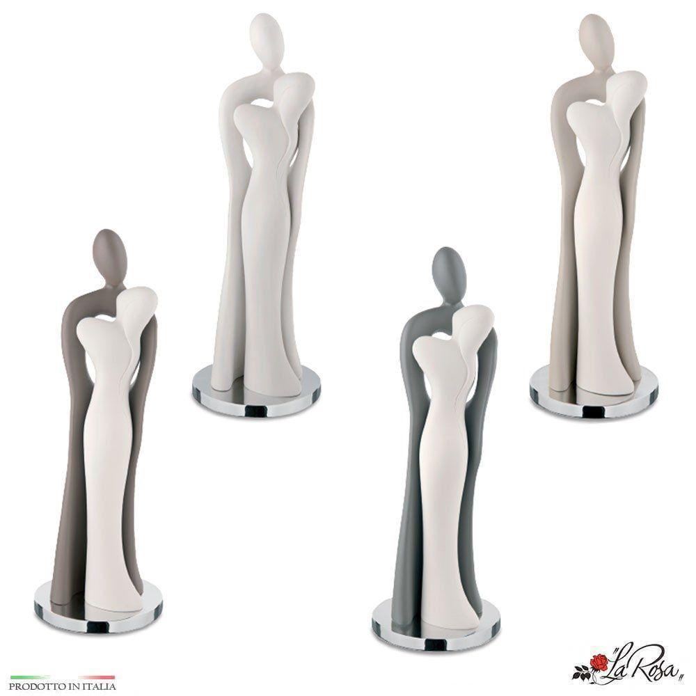 Statua Coppia Sposi Abbracciati Moderna Idea Regalo Per Matrimonio Oppure Come Bomboniera Per Testimoni O Genitori Articolo Prodotto Rigo Statue Coppie Spose