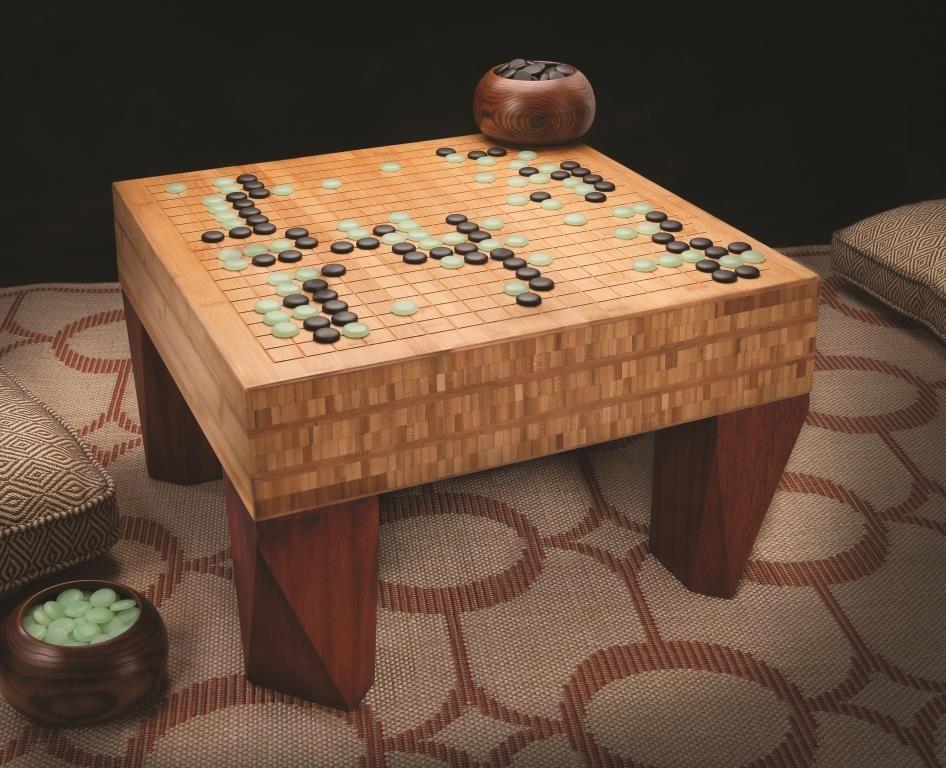 Her er en lidt ande tilgang til at lave et klassisk GO spillebræt. I stedet