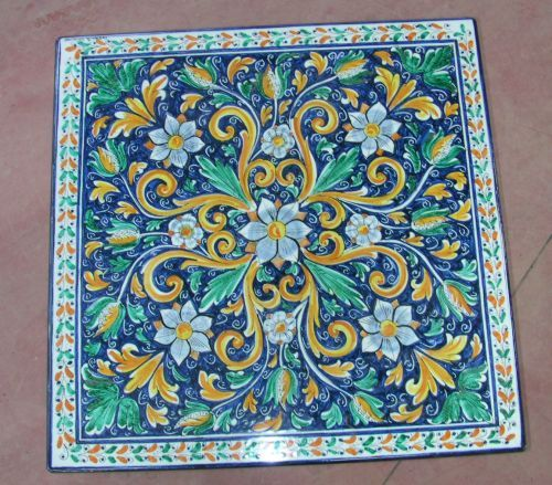 Pavimenti ceramiche siciliane cerca con google ceramica pinterest pavimenti ceramiche e - Piastrelle siciliane antiche ...