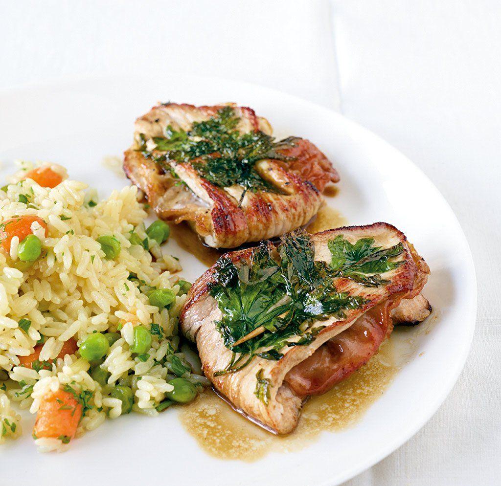Kalbsschnitzel Gefuellt Mit Serrano Schinken