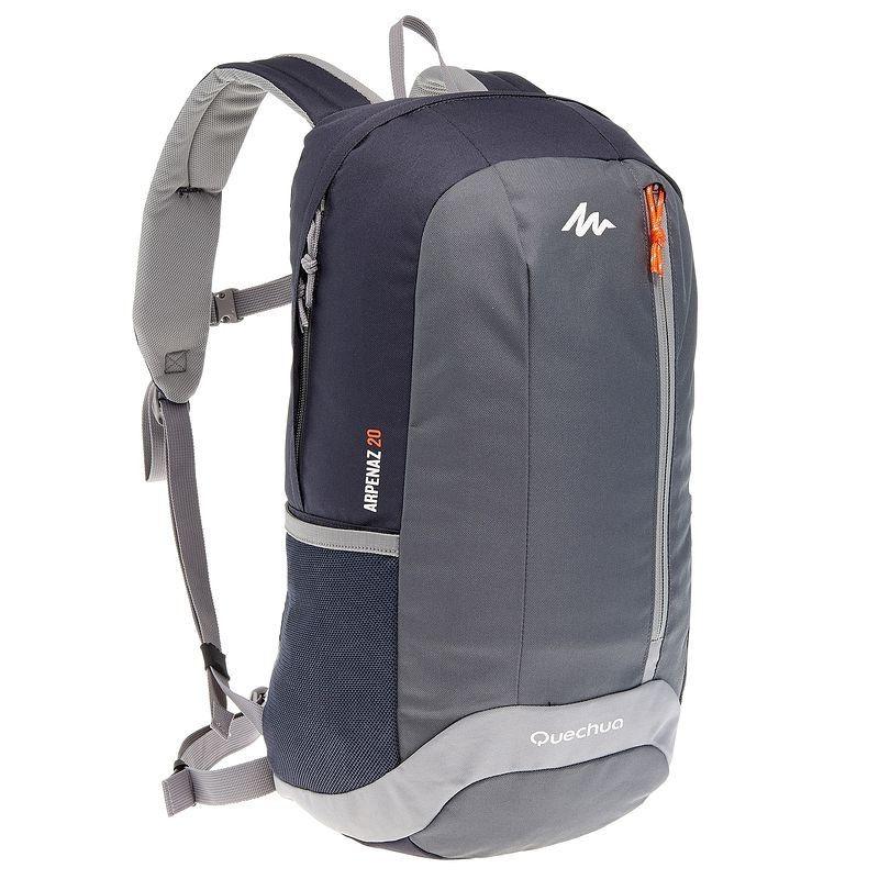 5cb9ec2ba2 Trekking Accessoires Outdoor - Rugzak Arpenaz 20 zwart grijs QUECHUA -  Backpacks en rugzakken