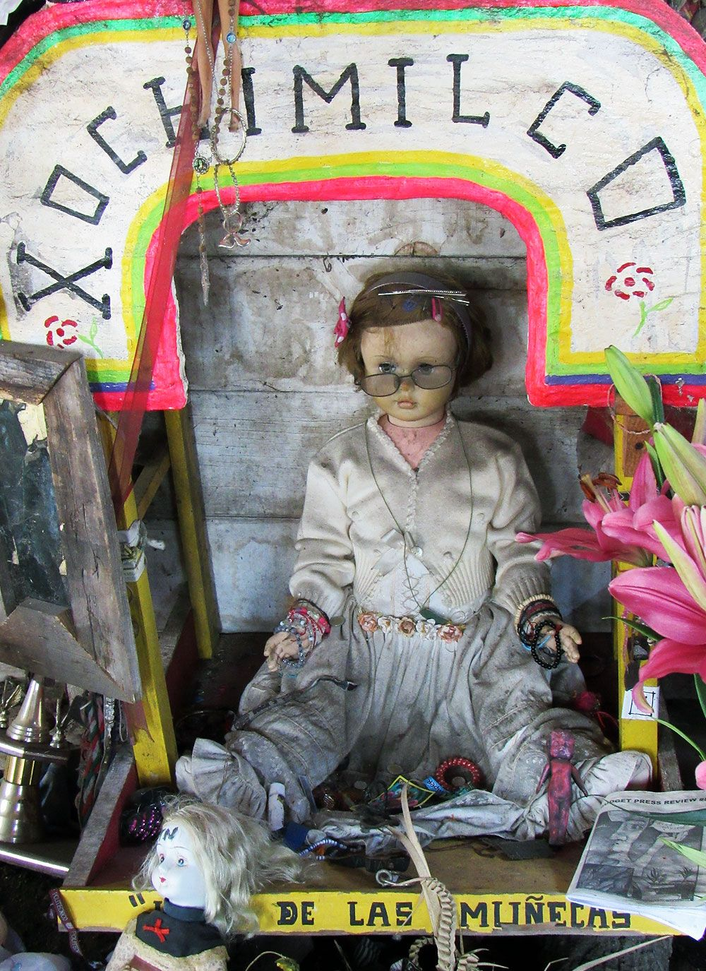 Xochimilco And The Island Of The Dolls