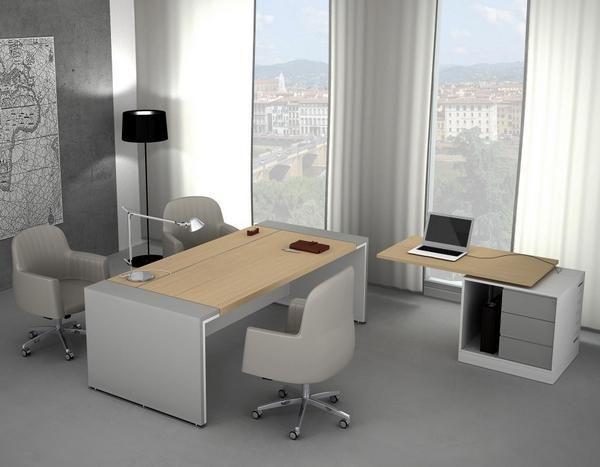 Modern Minimalist Office Interior Design  Compact Office