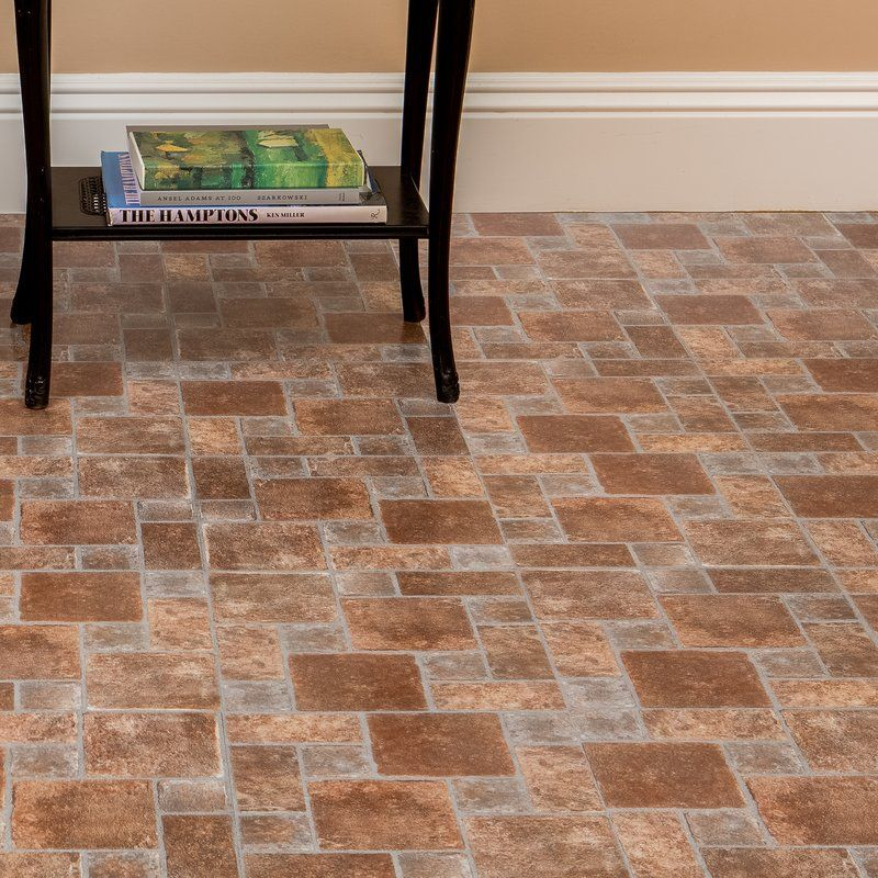 Tivoli Brick Pavers 12 X 12 X 1 2mm Luxury Vinyl Tile Vinyl Tile Luxury Vinyl Tile Brick Flooring