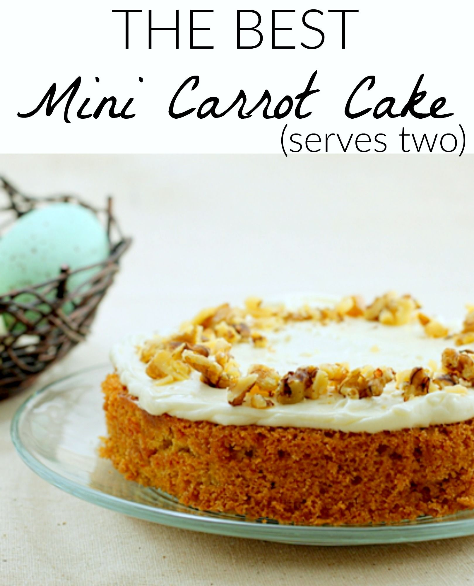 Small Carrot Cake From Scratch. Better Than Publix Carrot