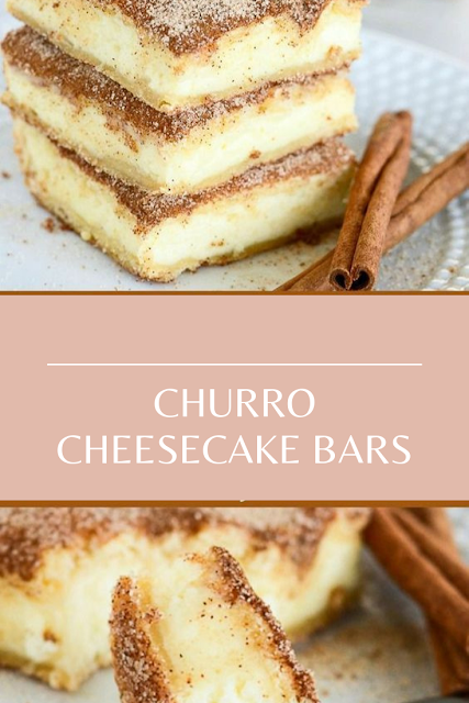 CHURRO CHEESECAKE BARS #churrocheesecakebars CHURRO CHEESECAKE BARSDessert Recipes Easy, Dessert Recipes Healthy, Dessert Recipes For A Crowd, Dessert Recipes Peach, Dessert Recipes Simple, Dessert Recipes Best, Dessert Recipes Fall, Dessert Recipes Chocolate, Dessert Recipes For Summer, Dessert Recipes Videos, Dessert Recipes No Bake, Dessert Recipes Fancy, Dessert Recipes Cake, Dessert Recipes Christmas, Dessert Recipes Apple, Dessert Recipes Mexican, Dessert Recipes Strawberry, Dessert Recipe #churrocheesecakebars