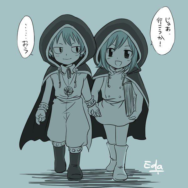 Gajevy Twins Anime Fairy Tail Family Fairy Tail Fairy Tail Photos