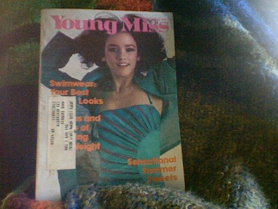 June/July 1981 cover with Jeanine Capozzoli