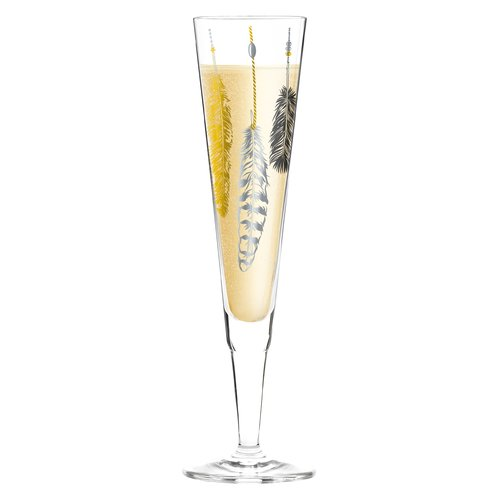 Ritzenhoff Champus 200ml Glass Champagne Flute Wine Glass Set Large Wine Glass Gin Glasses