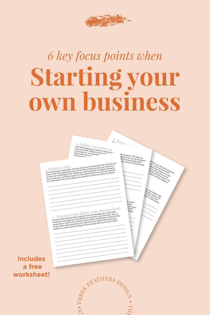 Starting Your Own Business Start online business