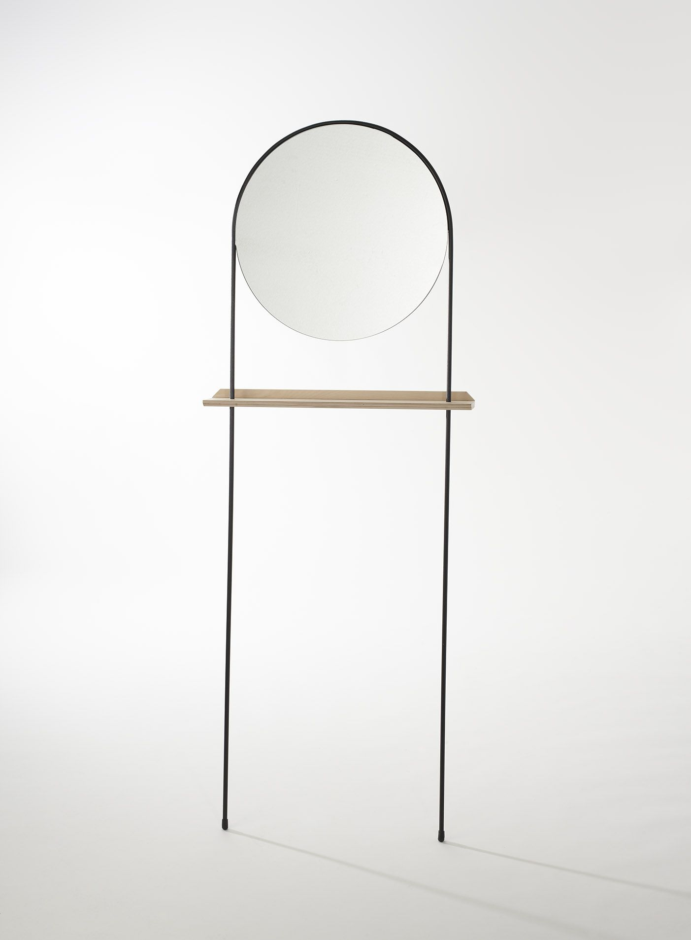 A refined range of free standing mirrors that speak a for Long standing mirror