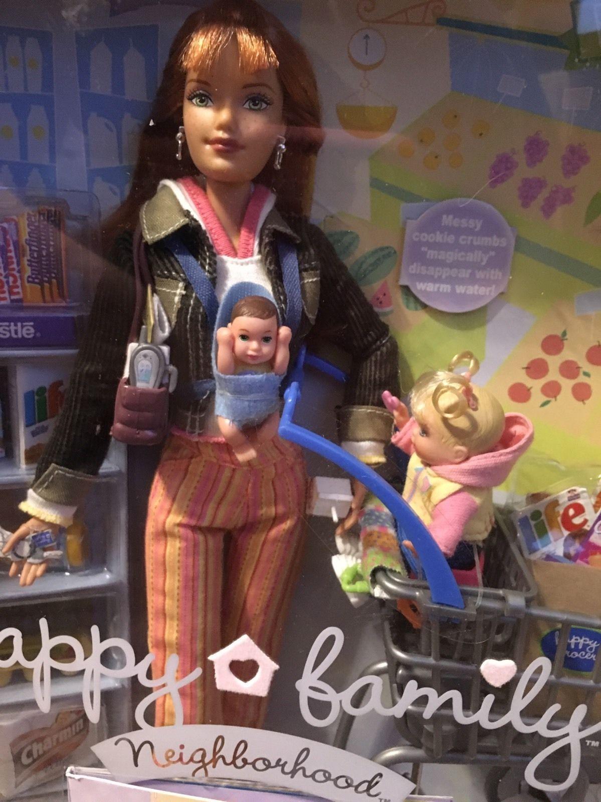 Shopping Fun Midge and NikkiAlan and Ryan Stroller Set