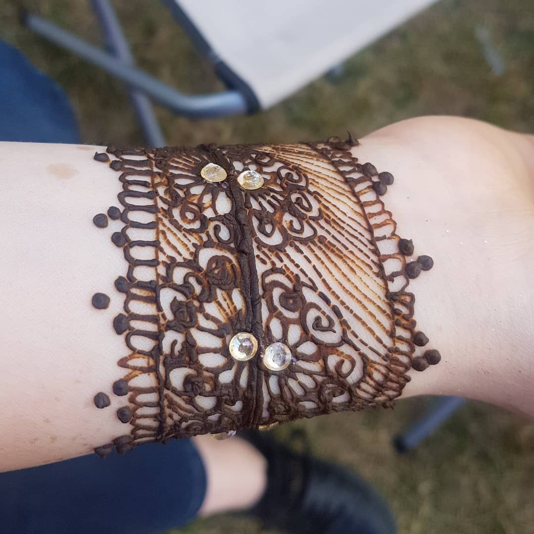 Beautiful tribal style bracelet design done as per clients request