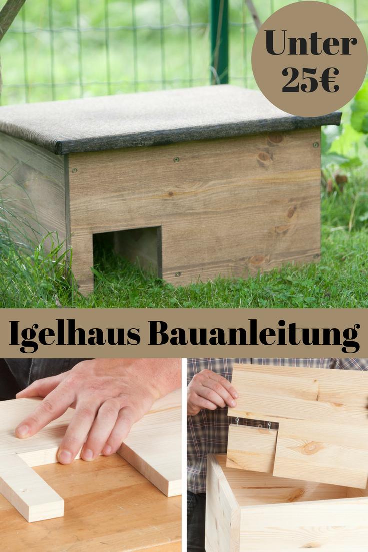 igelhaus bauanleitung | gardening | garten, igel und igelhaus