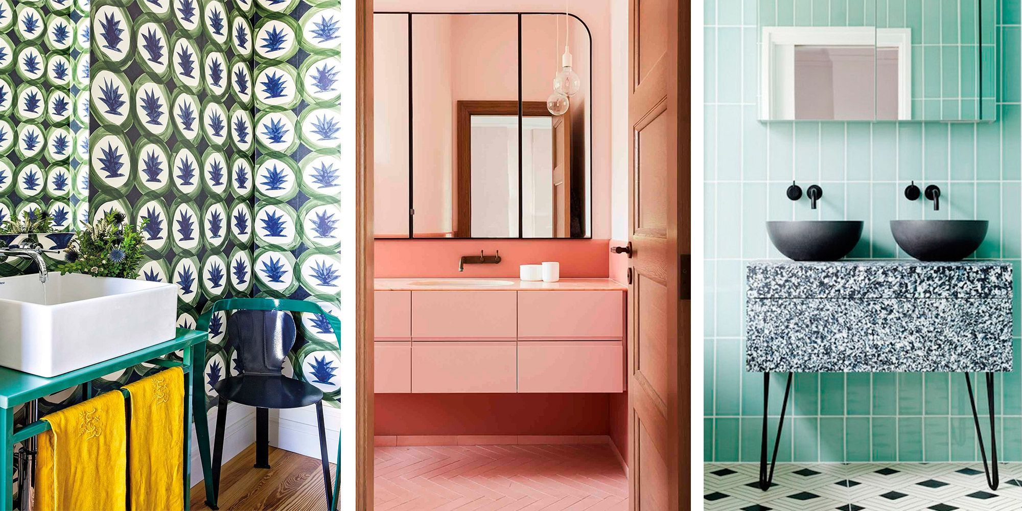 10 baños más coloridos para alegrar tu casa | Baños de ...