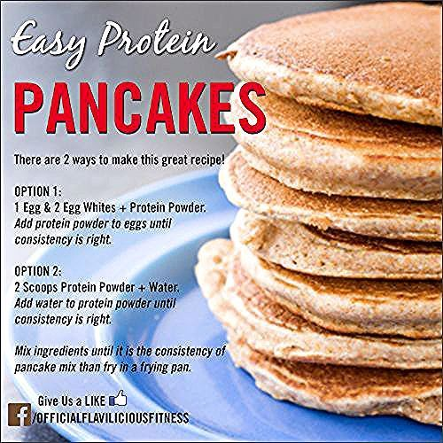High Protein Pancake Recipe - Fitness für Frauen von Flavia Del Monte -  High Protein Pancake Recipe...