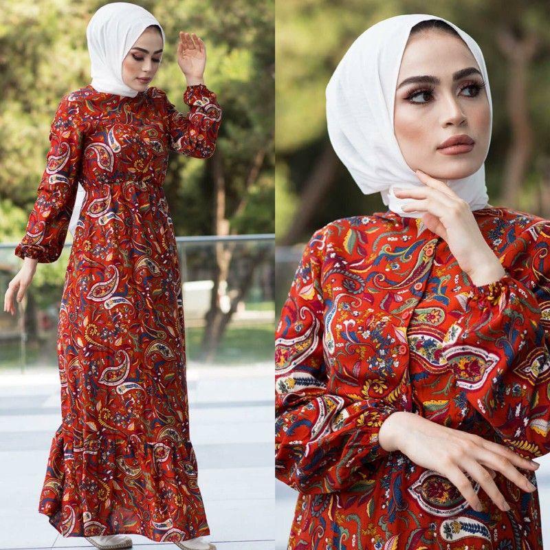 Desenli Viskon Elbise Elbise Giyim Elbise Modelleri