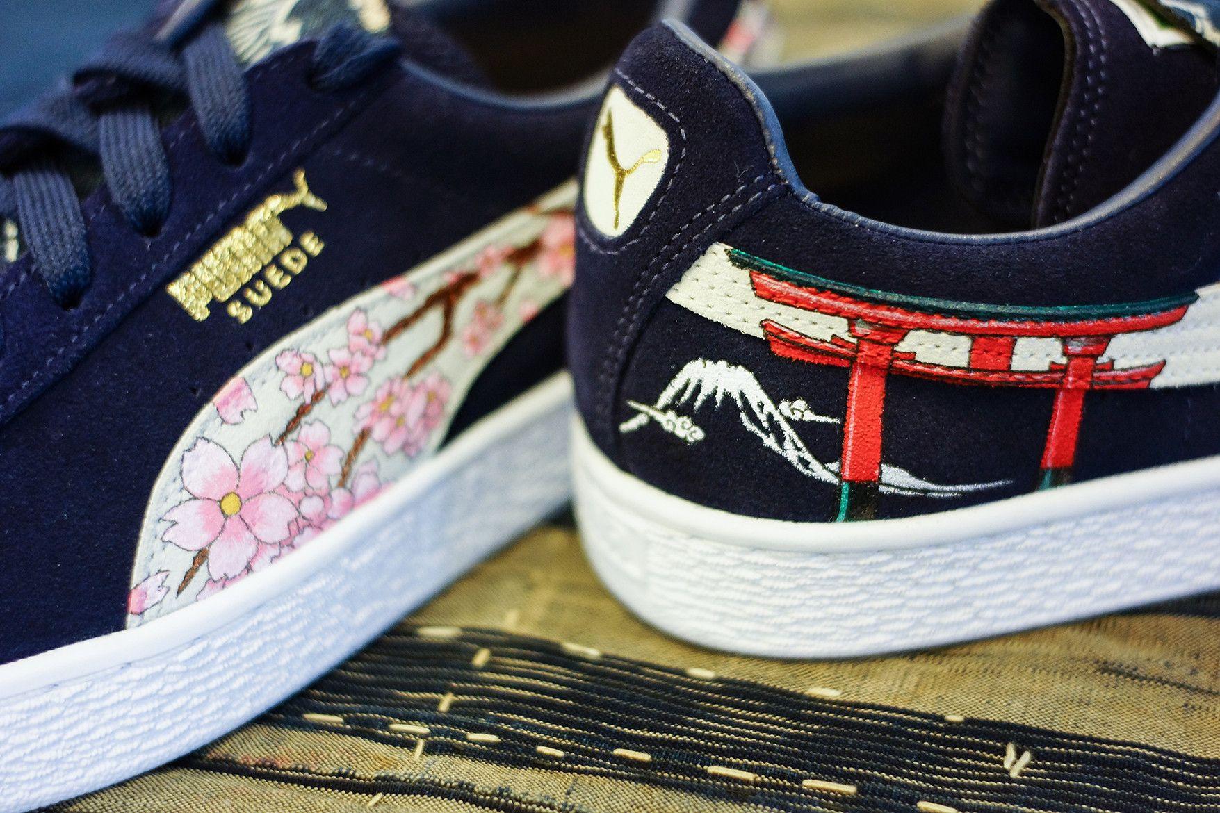 Traditional Custom A Puma Ukiyo E Sees The Suede nwPO0k