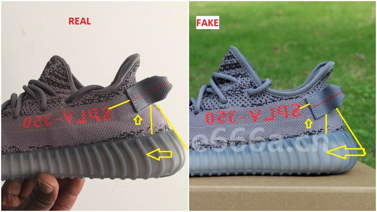 26680825ae2dd Fake+Adidas+Yeezy+350+V2+Beluga+2.0+Spotted-Quick+Ways+To+Identify+Them