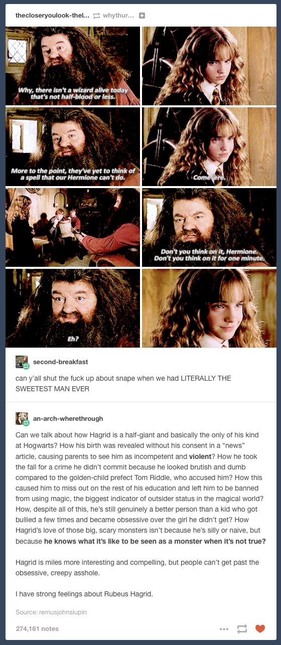 Are absolutely hermione fucking hagrid opinion