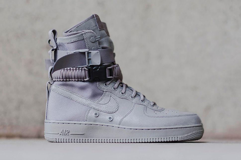 Nike Air Force 1 Sf Af1 Triple Grey Eu Kicks Sneaker Magazine Obuv Stil Odezhda