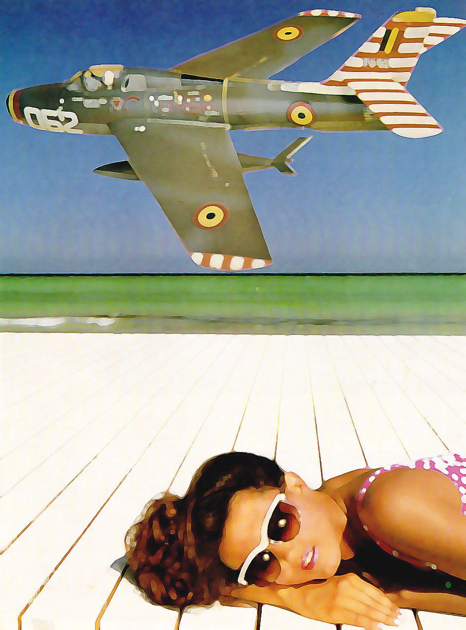 Airplanes (collage) Fernando Olivares